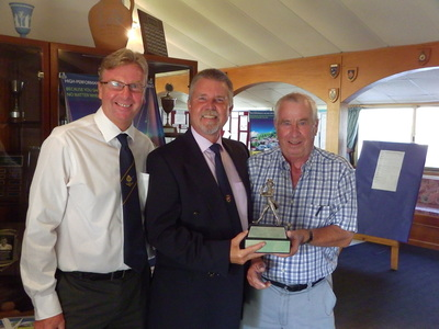 Men's Club Champion 2015 - Blue Turnpenny